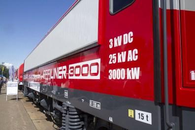 CZ Loko 365 001 during the Czech Raildays 2016. Copyright Ludwig GS