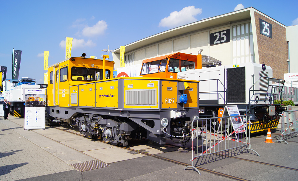 specialised shunter parade