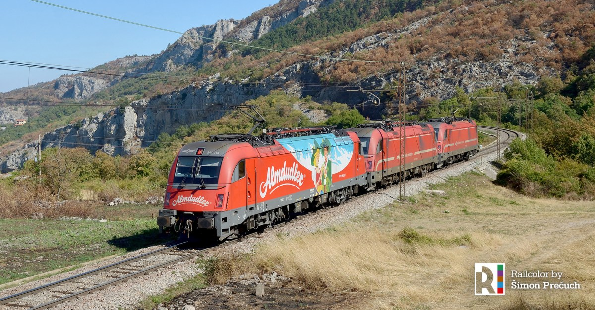 [SI / Expert] SŽ 541 locomotives as 'Werbeloks': all colorful promo liveries (edited)