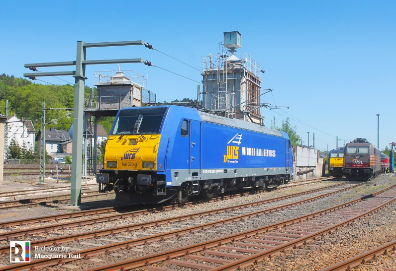 Macquarie > WRS 146 520 in Eisenach on 08.05.2018 - Photo: Macquarie Rail