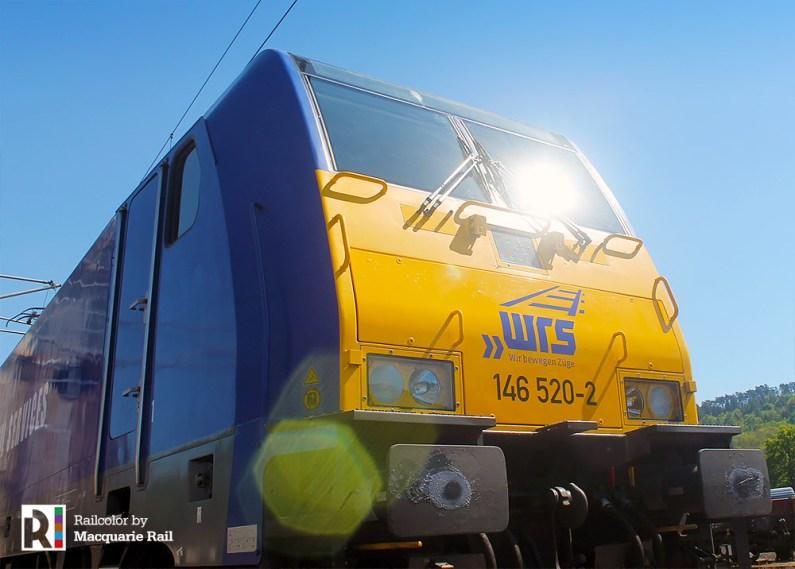 Macquarie > WRS 146 520 in Eisenach on 08.05.2018 - Photo: Macquarie Rail