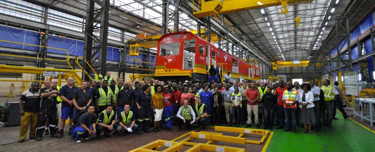 Factory visit Durban (SA) - Copyright Bombardier