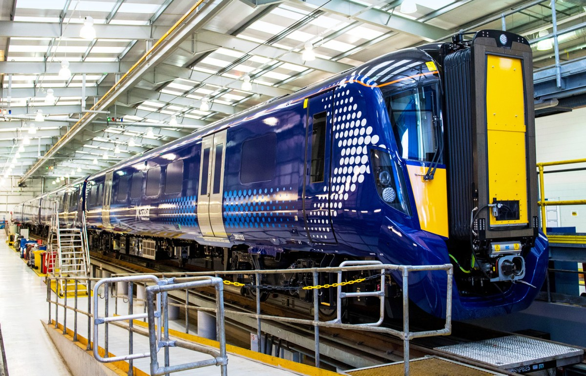 [UK] Scotrail: Class 385 EMUs in service from 24 July