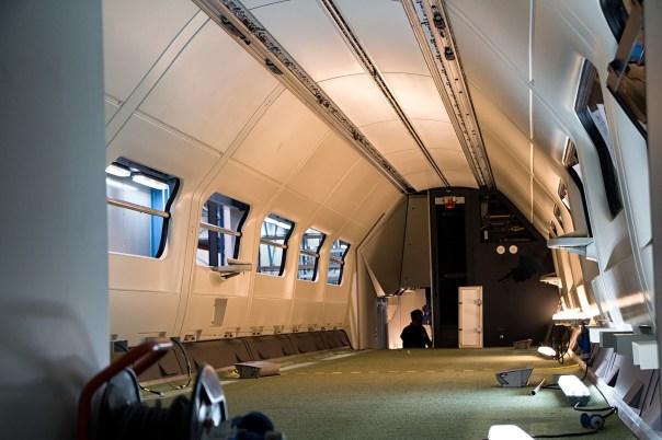 Upper deck after installing the wall panels - Roel Hemkes