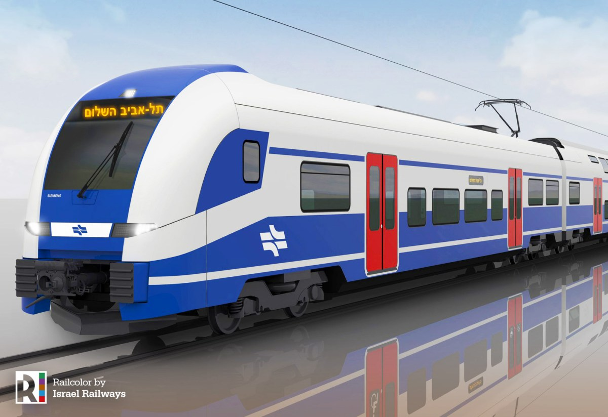 [IL] The Desiro HC EMU for Israel - take a look inside