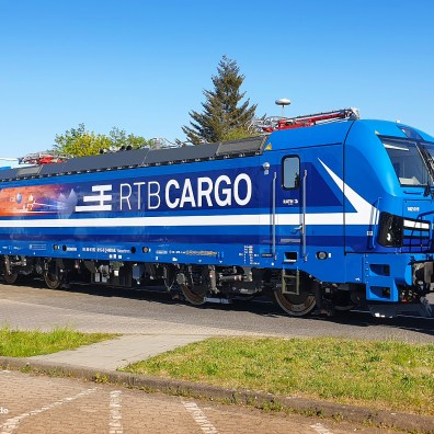 Paribus > Northrail > RTB Cargo 192 015 on 21.04.2020 - first day in its RTB-design - Sign-tech.de
