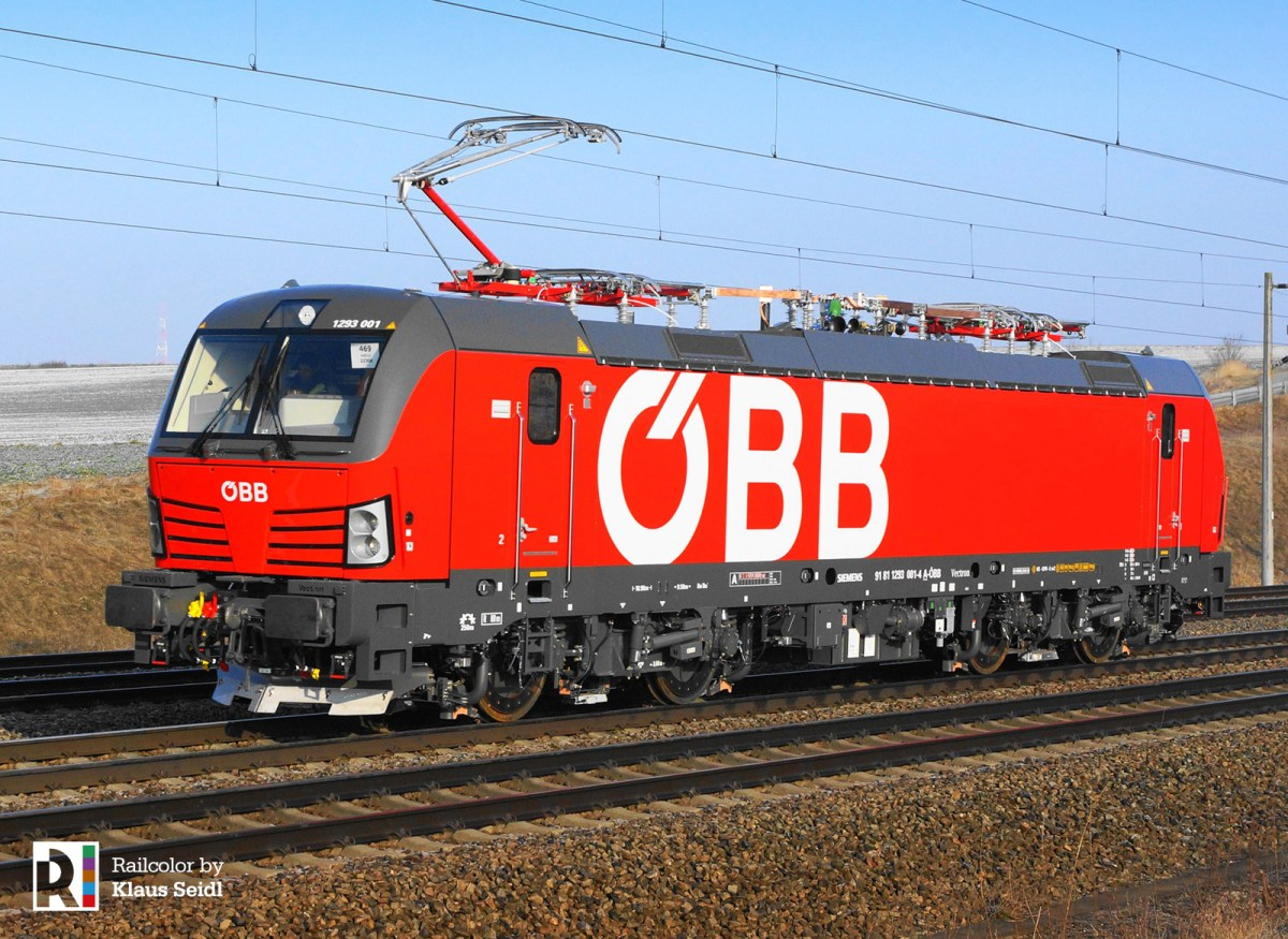 [AT] On maiden run: 1293 001 - the first Vectron for the ÖBB [updated]
