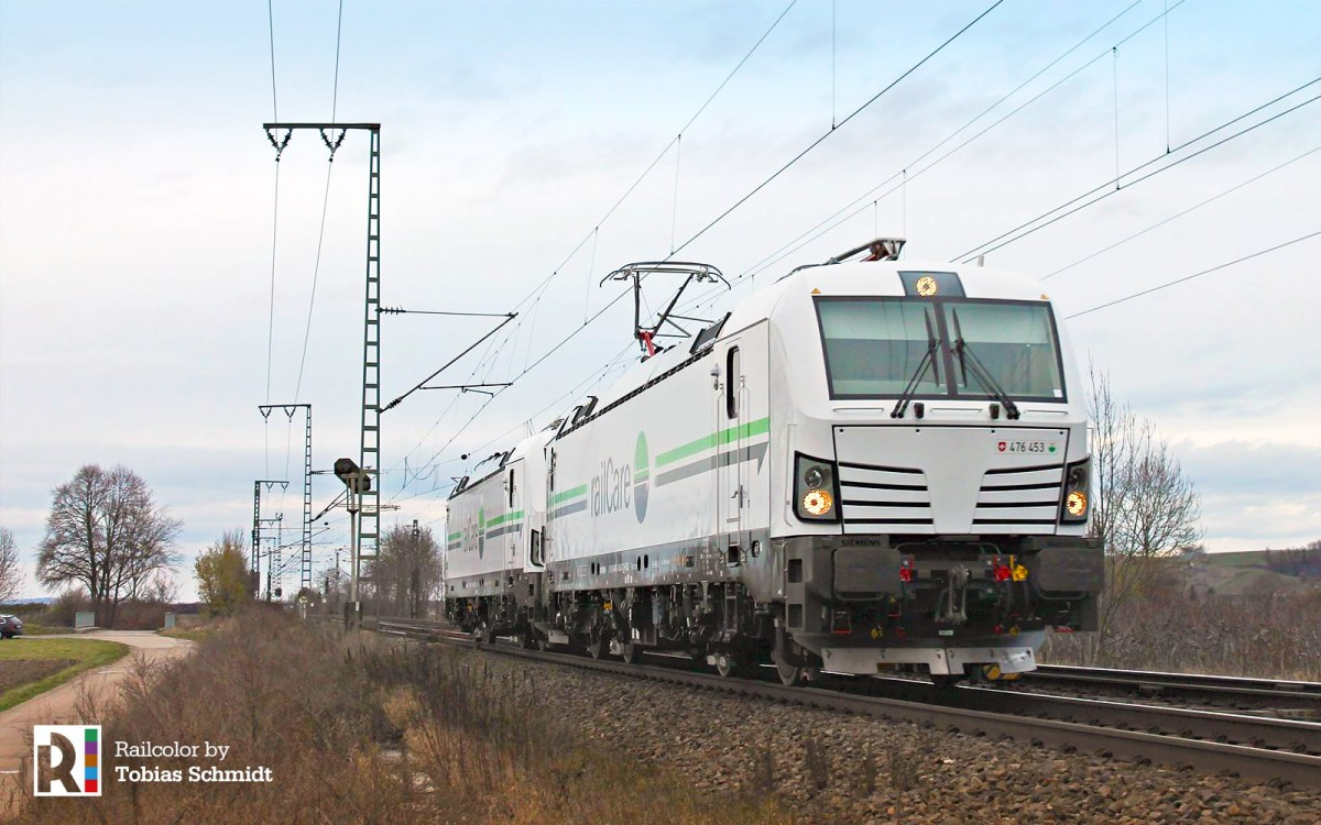 [CH] New Vectrons for railCare: Tessin and Waadt
