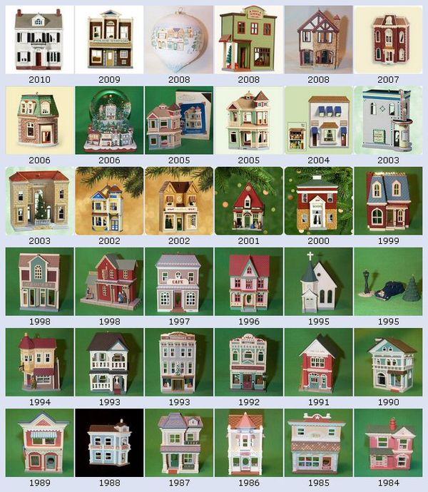 Penny Raile Hallmark Nostalgic Christmas Houses