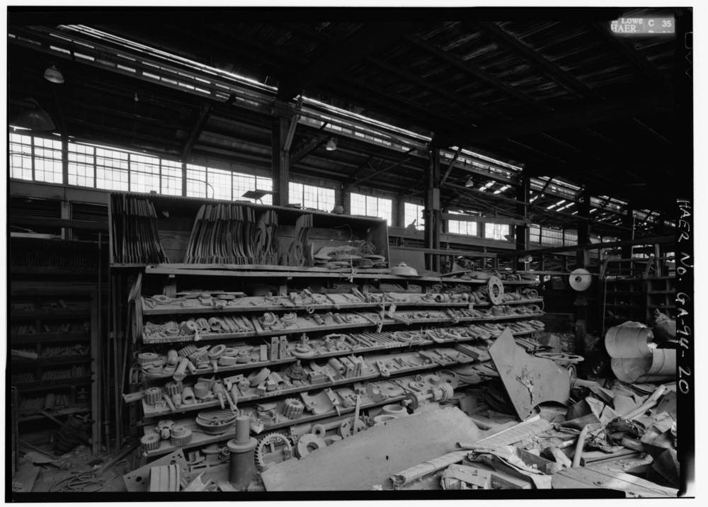 STEAM_EQUIPMENT_TOOL_AND_DIE_CRIB_-_Glover_Machine_Works,_651_Butler_Street,_Marietta,_Cobb_County,_GA_HAER_GA,34-MARI,2-20