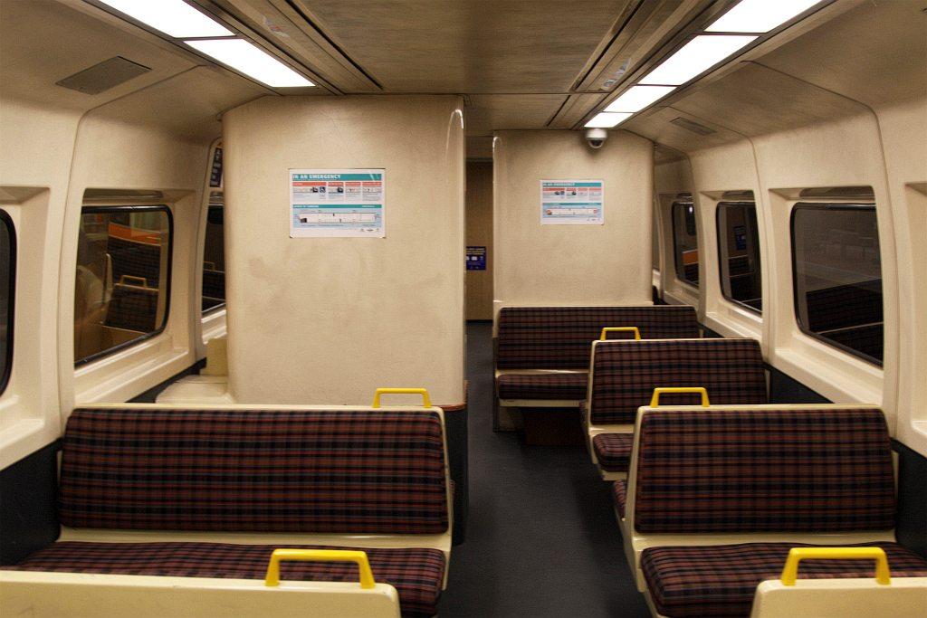 Interior Of A Non Refurbished 2000 Class Railcar Wongms