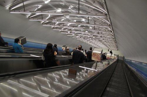 Image result for Parliament Station elevators