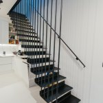Modern Floating Staircase Uk Wood And Glass Railing London