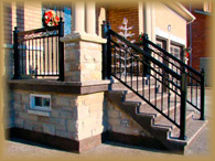 Toronto Pro Railings Services Link Aluminum Railings