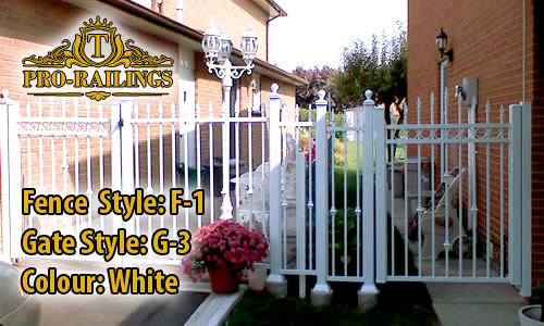 TorontoProRailings-Aluminum-Fence-Style-F-1-Gate-Style-G-3-Colour-White