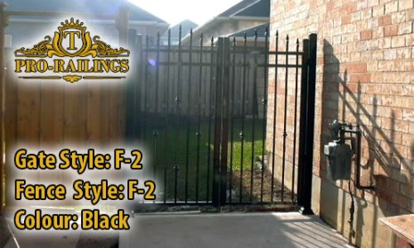 TorontoProRailings-Aluminum-Gate-Style-F-2-Colour-Black