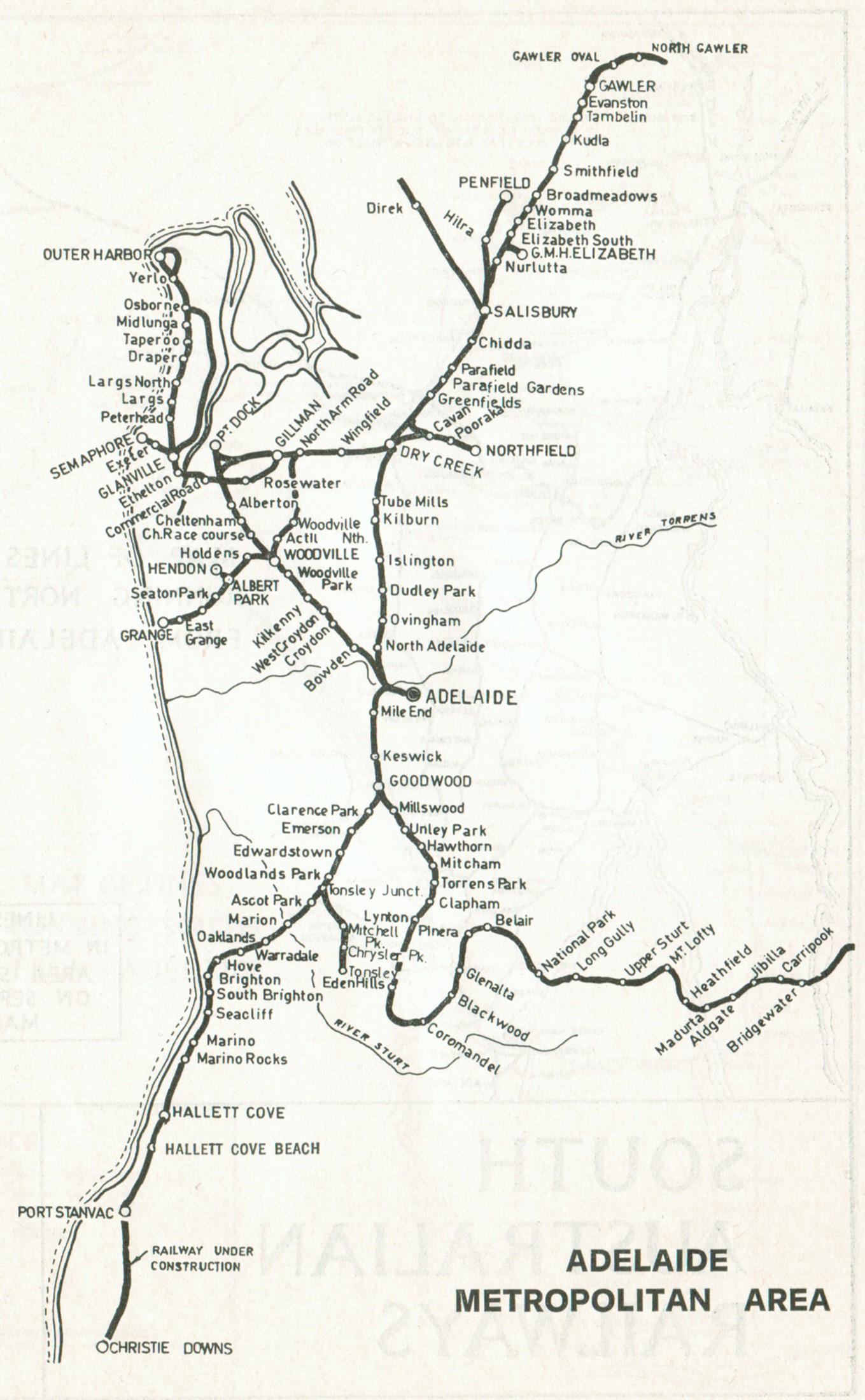 Historic Australian Rail Maps