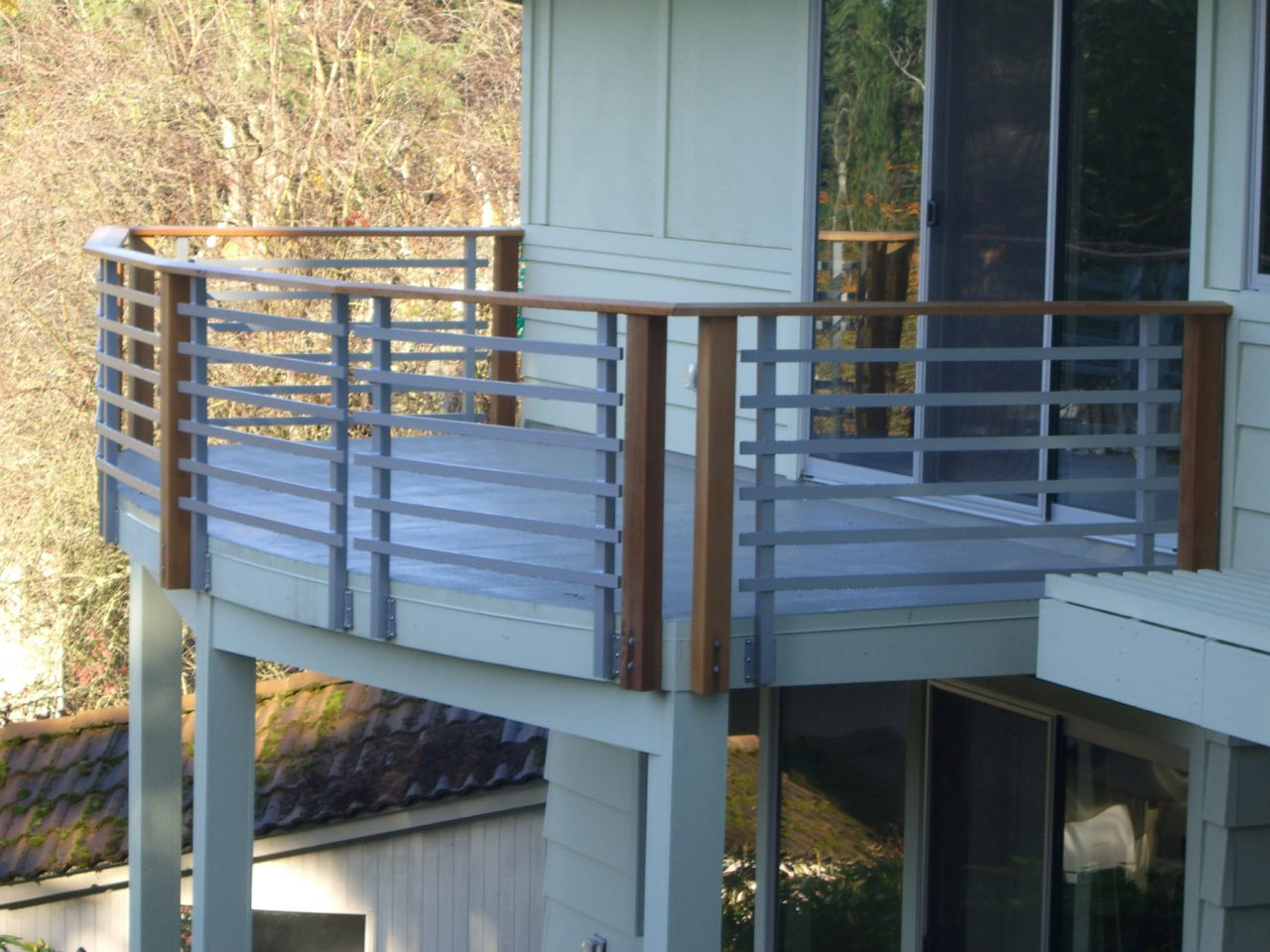 Steel Porch Railing