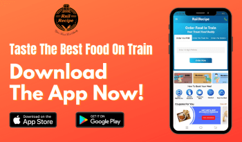 food ordering app in train,
