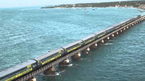 Mandapam - Rameshwaram Train Route