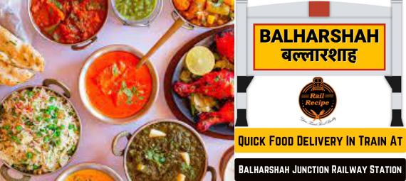 Quick Food Delivery In Train At