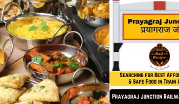 Food on train at Prayagraj Railway Station