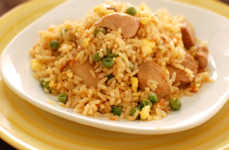Chicken Fried Rice- Preferred chinese food on train