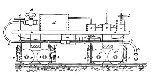 small resolution of patent illustration for george westinghouse s first patent for an air brake