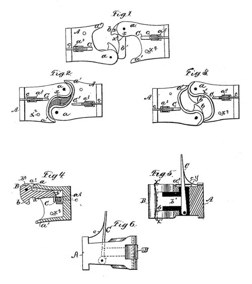 small resolution of patent diagram of the janney coupler
