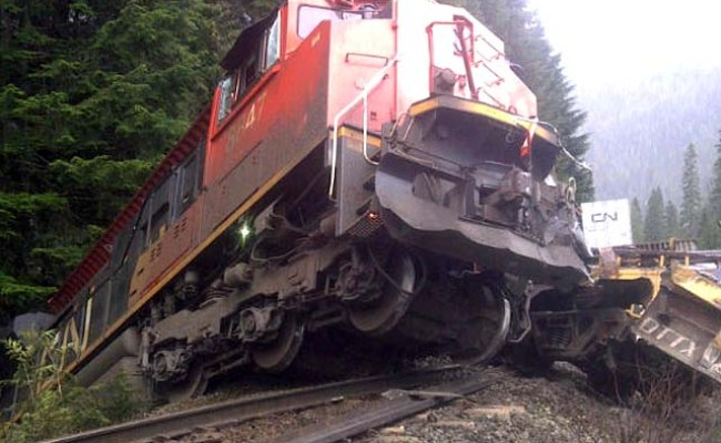 Cn Railway Derailments Other Accidents Incidents
