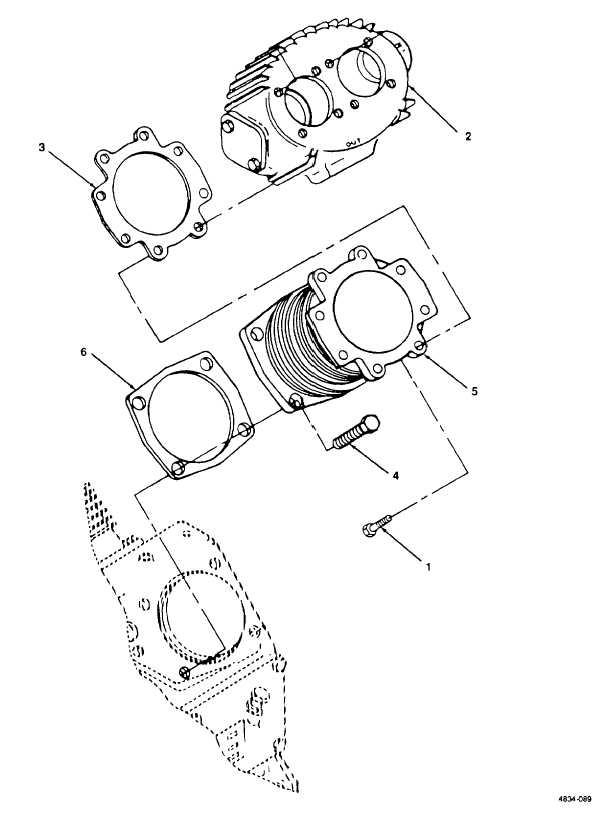 Figure 89. Cylinder Head, Low Pressure.