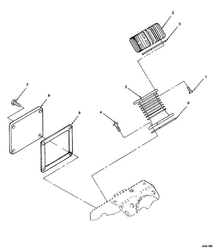 Figure 90. Cylinder Head, High Pressure.