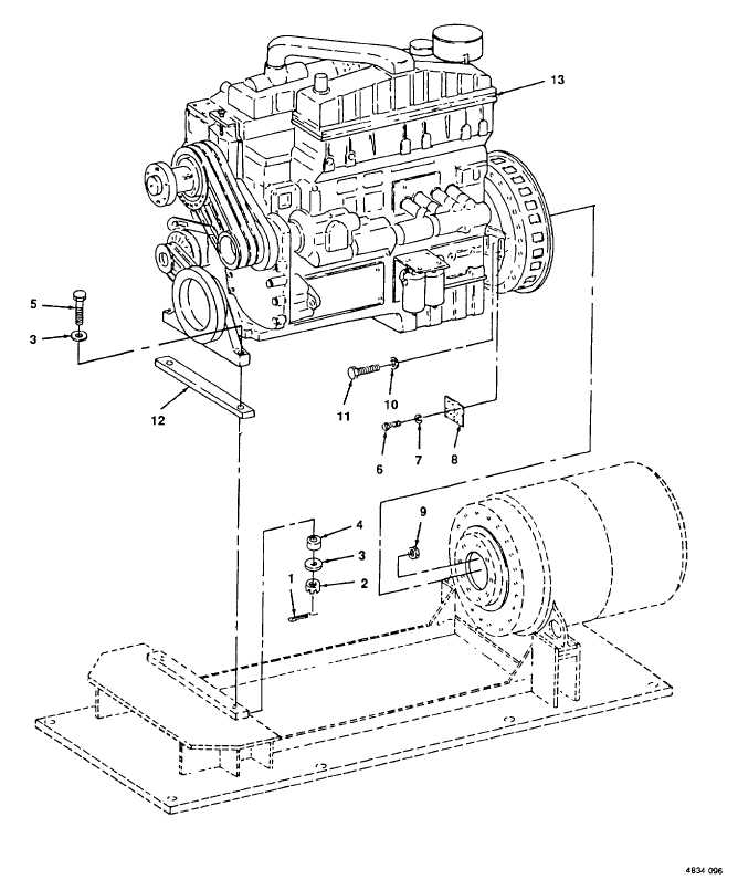 Figure 96. Diesel Engine.