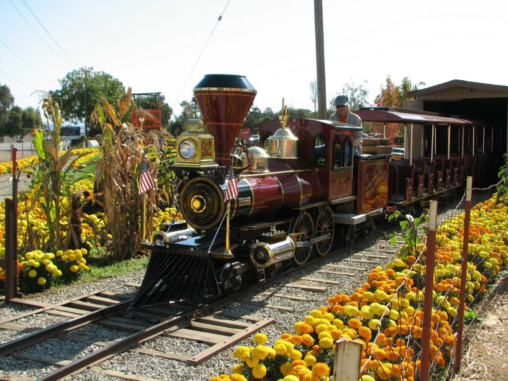 Miniature Trains and Grand Scale Railroads  Uesugi Farms