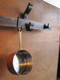 Rail Anchor Pot Rack System - Wall Mounted - RailroadWare