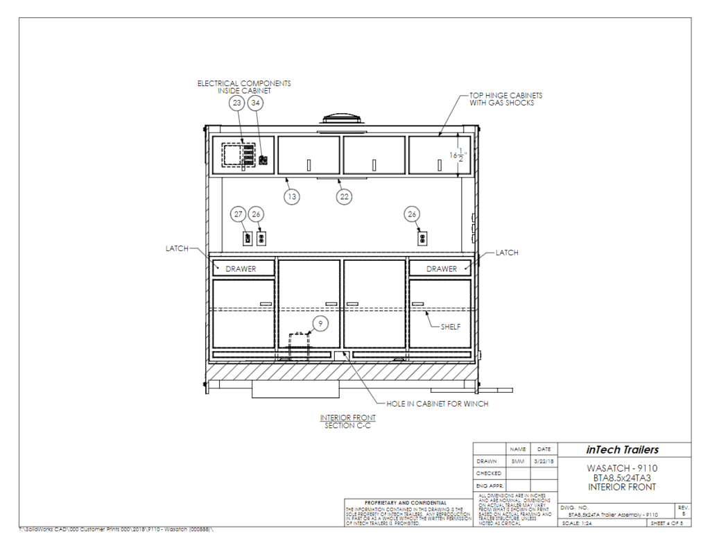 hight resolution of custom enclosed car trailers for race cars built with rail ryder ryder utility trailer lights wiring diagram