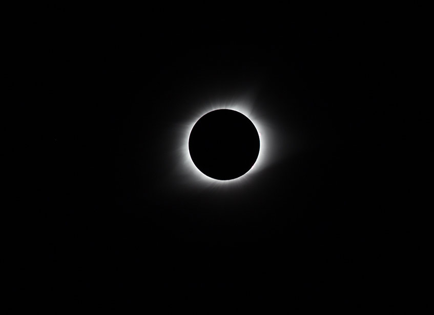 Total solar eclipse!