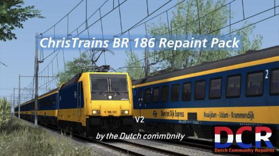 DCR BR 186 repaint pack v2