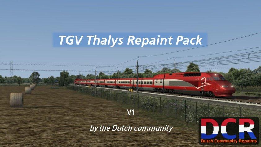 DCR TGV/Thalys Repaint Pack
