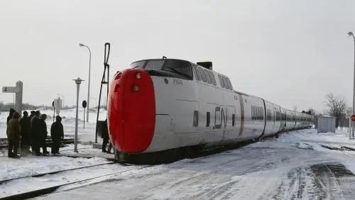 UAC TurboTrain P104. Автор: High Speed Rail Canada, коллекция Bill Linley