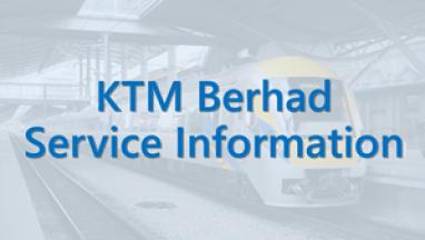 Icon KTM Berhad Service Information
