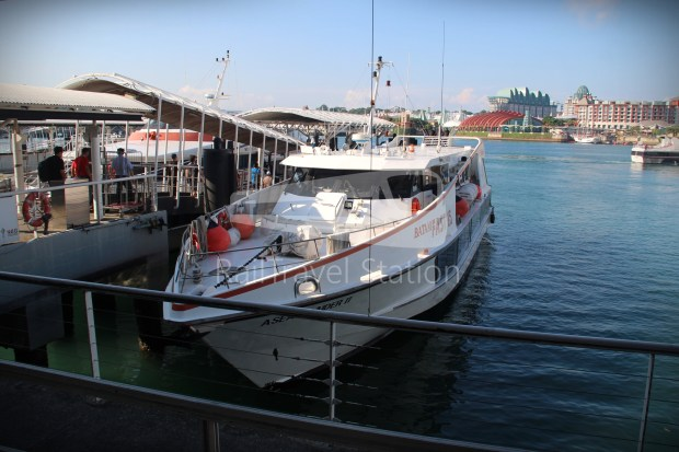 Singapore to Bali Day 1 BatamFast HarbourFront to Batam Centre 08