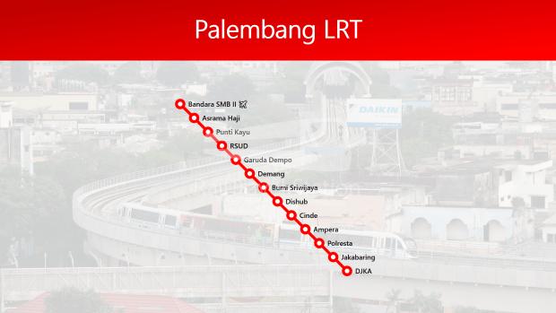 TRAINS1M2 Palembang LRT 13 Stations 01
