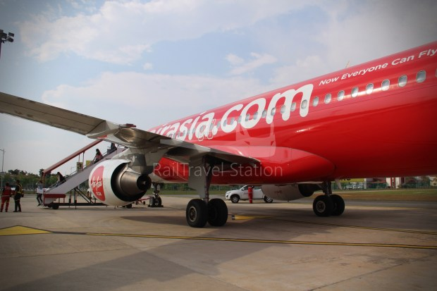 AirAsia AK6173 AOR JHB Abandoned 038