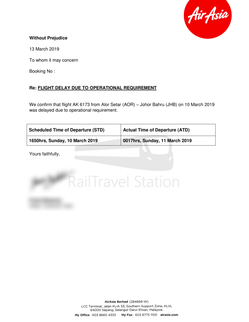 AirAsia AK6173 AOR JHB Abandoned 062
