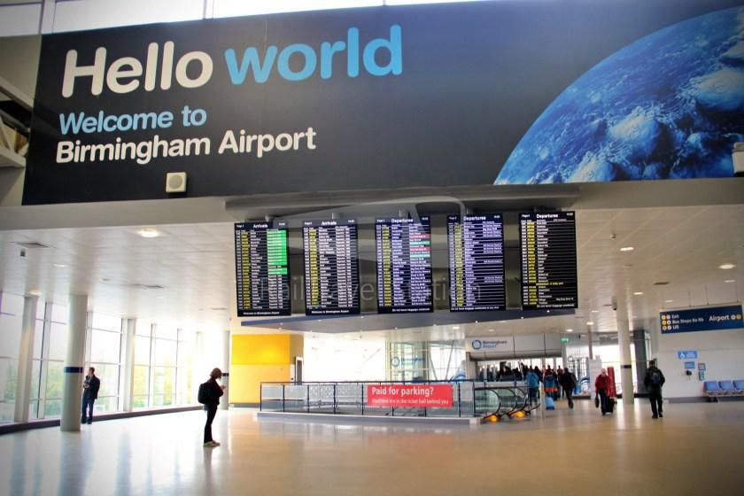 Birmingham Airport AirRail Link Railway Station Airport 001