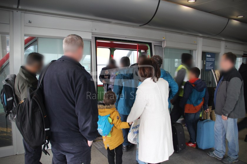 Birmingham Airport AirRail Link Railway Station Airport 010