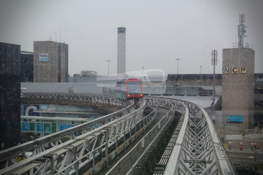 Birmingham Airport AirRail Link Railway Station Airport 014