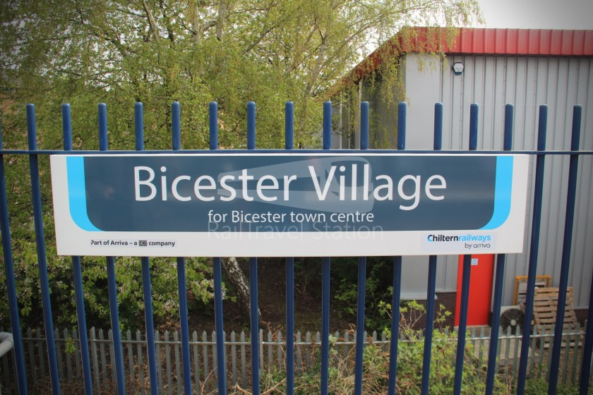 Chiltern Railways Bicester Village Oxford 022