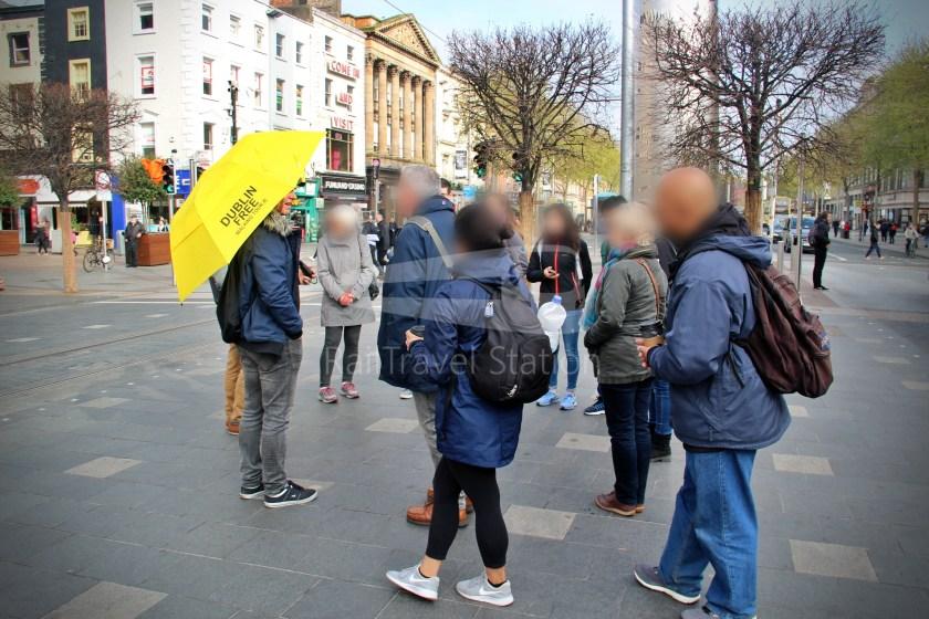 Dublin Yellow Umbrella Free Walking Tours South Side 003